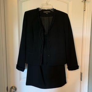 Dresses & Skirts - Black skirt suit, 6P